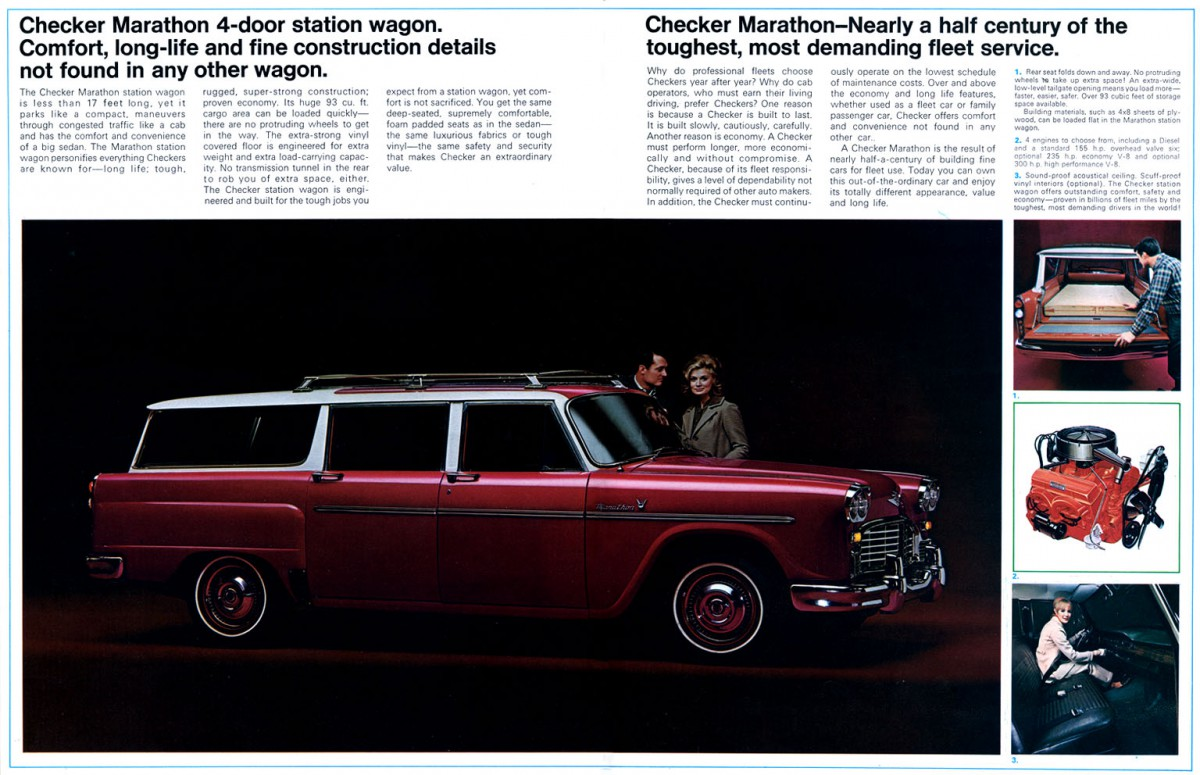 but after 1965 checker would switch to chevrolet powertrains for 1973 they would also switch to a gm automatic transmission the turbo hydramatic 400