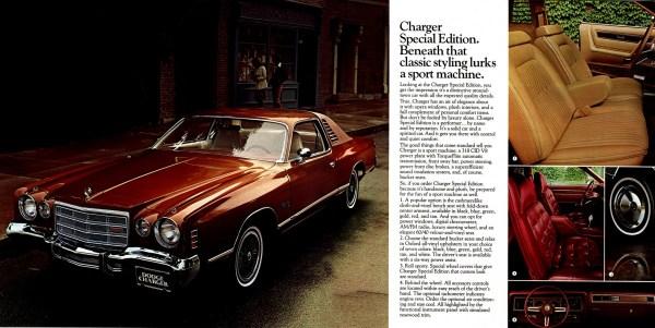 1976 dodge charger SE
