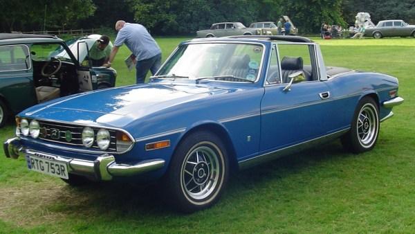 1976 triumph stag 2