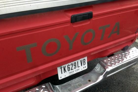 1986 Toyota truck i