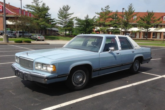 1989 Mercury Grand Marquis c