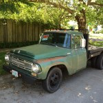 Cc For Sale 1968 International 1200 Flatbed Truck Huge Engine Curbside Classic