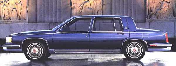 Cadillac 1987 sixty special