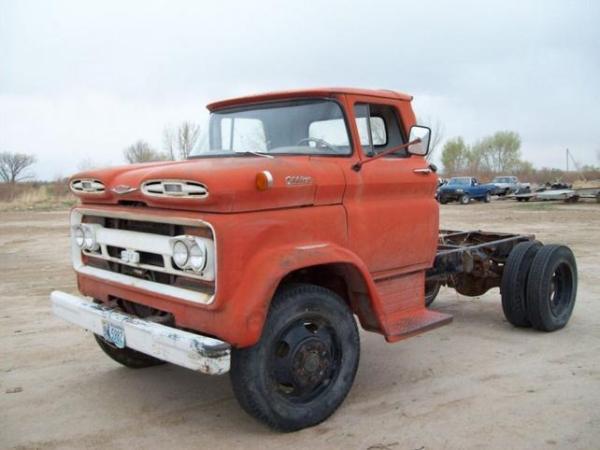 Chevrolet truck 1960 red