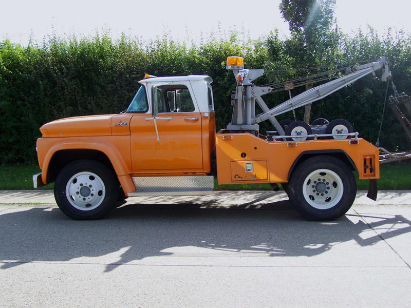 1950 Tow Truck >> Cohort Outtake: Big GMC Truck With IFS