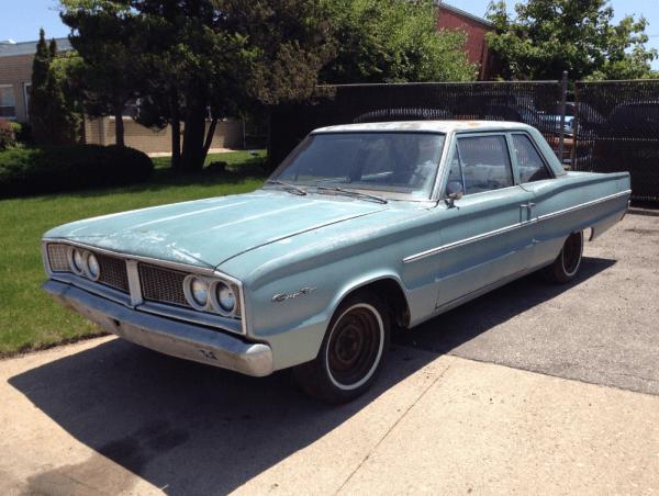 Dodge 1966 coronet 2 dr fq A