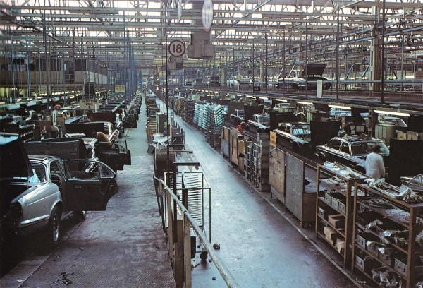 XJ6 Brochure Factory