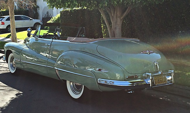 buick super rear profile
