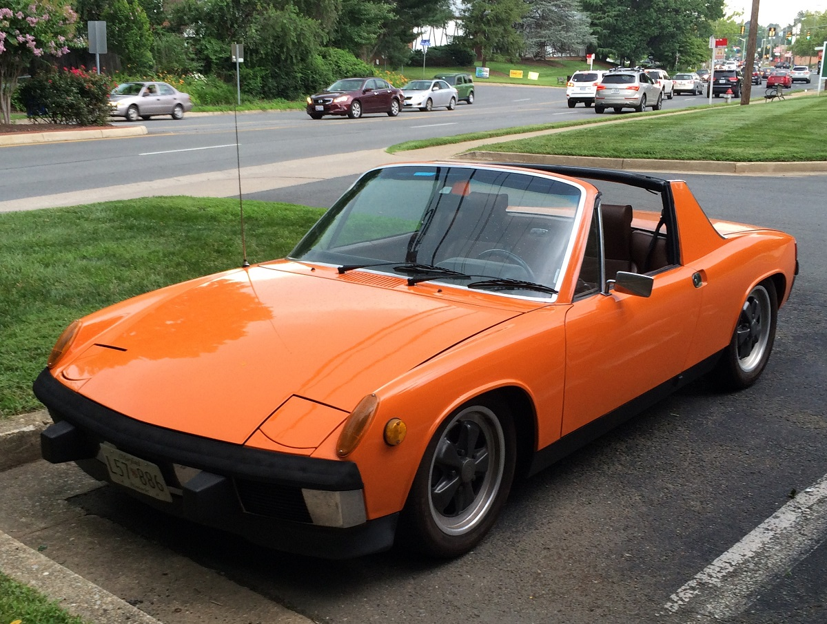 Curbside Clic: 1973-74 Porsche 914 2.0 — Entry Level Porsche 1.0