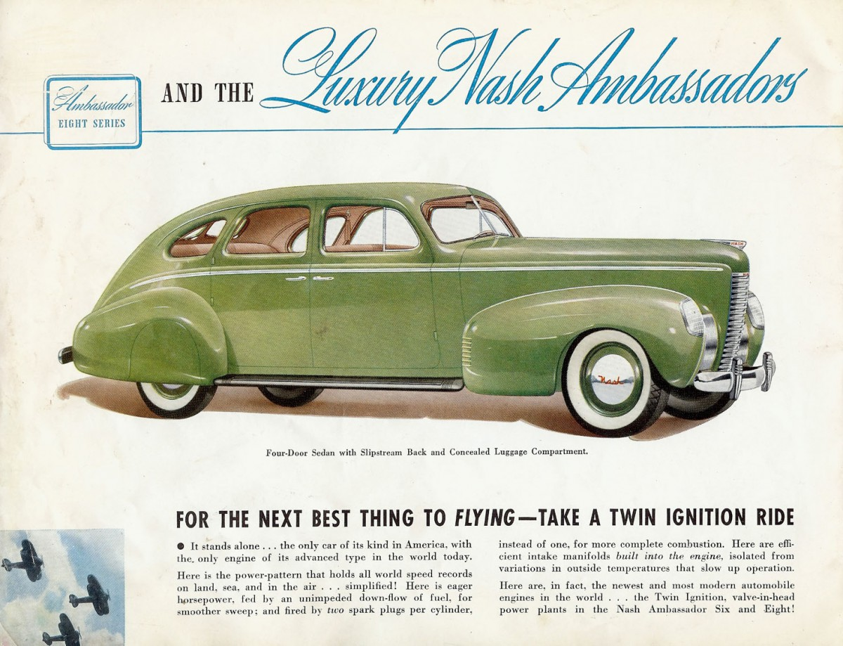 While production was twice that of recession riddled 1938 nash who had merged with kelvinator in 1937 still