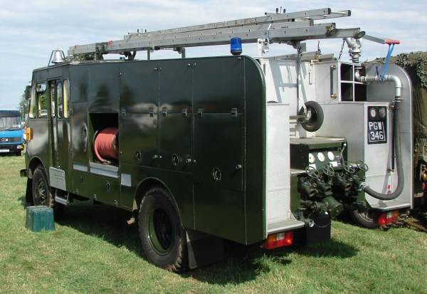 1956 Bedford RLHZ Self Propelled Pump .3