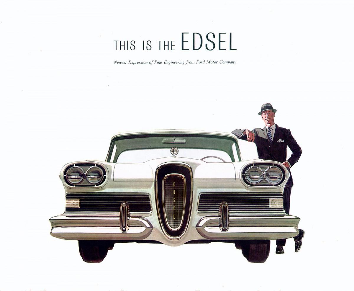 Car Show Classic Edsel Corsair Failure Is A Five Letter World