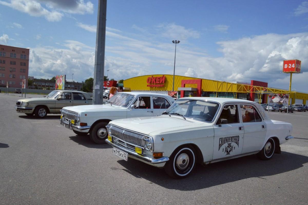 Car Show Report: GAZ-24 Volga\'s 45th Anniversary