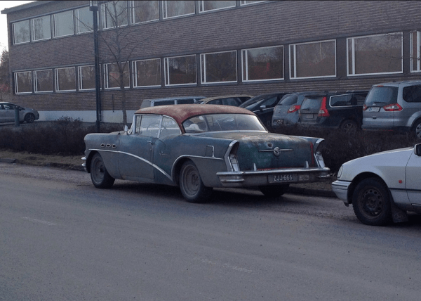 Buick 1956 special rq