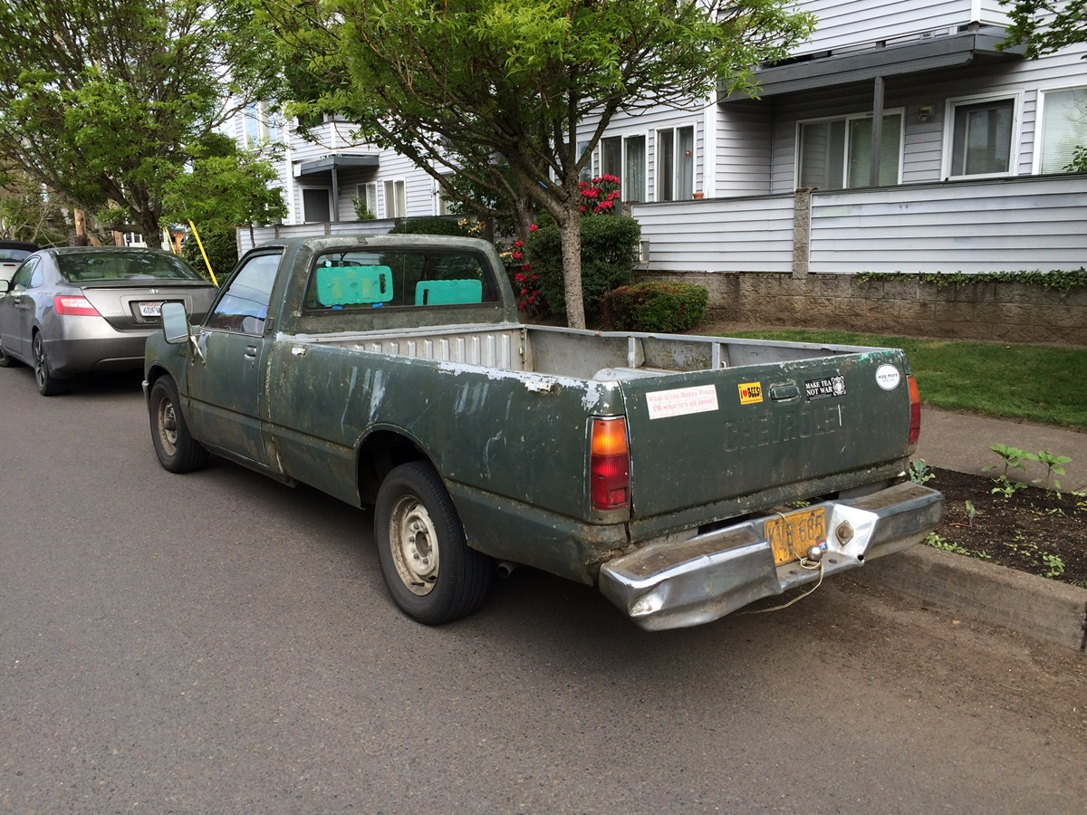 Cc Outtake 1981 Or 1982 Chevrolet Luv Diesel A Survivor Curbside Classic