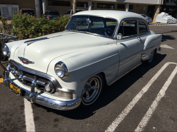 Chevrolet 1953 two door fq