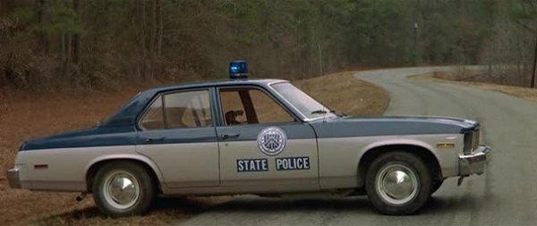Chevrolet Nova 1976 police car