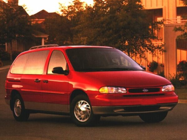 Ford 1996 windstar red