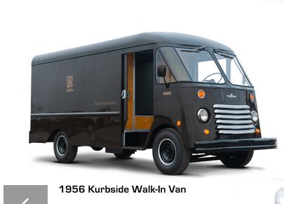Grumman Olson 1956 UPS step van