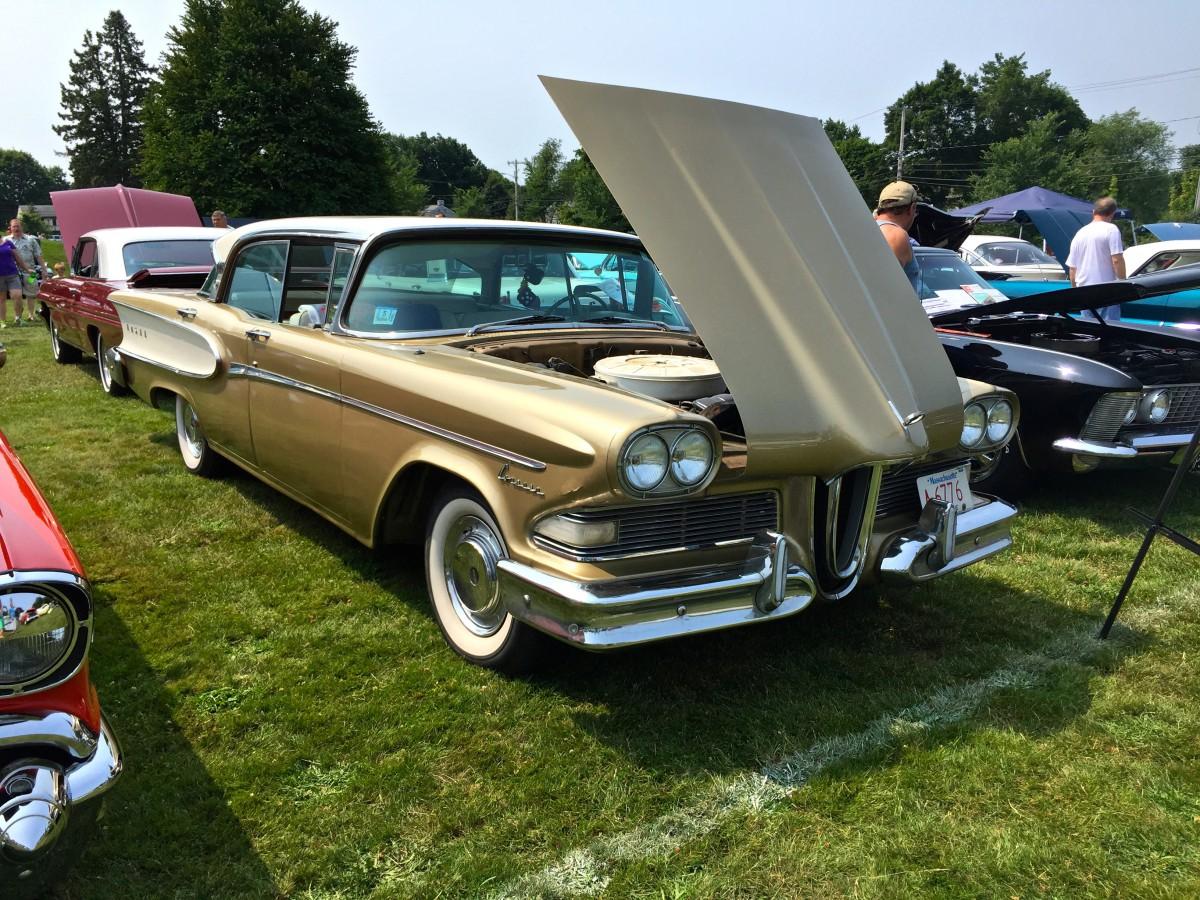 Car Show Classic: 1958 Edsel Corsair – Failure Is A Five-Letter World