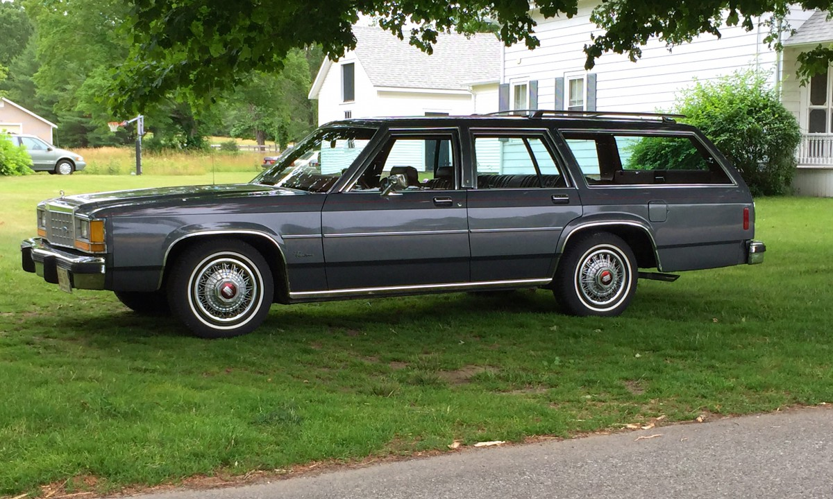 Cc Outtake Ford Ltd Crown Victoria Wagon Delightfully Di