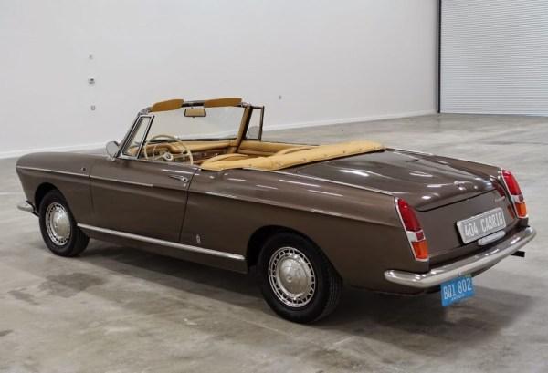 Peugeot 404 Cabriolet 1966 Rear