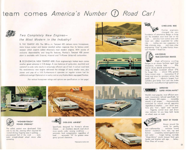 Pontiac 1959 engineering