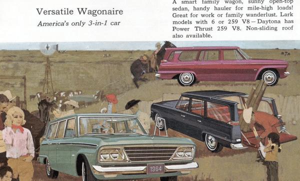 Studebaker 1964 wagonaire br