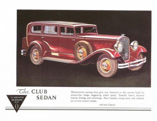 1931 Hudson Greater 8-05