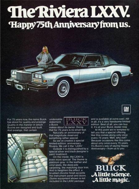 1978 buick riviera ad