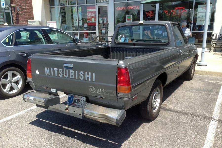 CC Capsule: 1985 Mitsubishi Mighty Max Sport – Unpopular in the ...