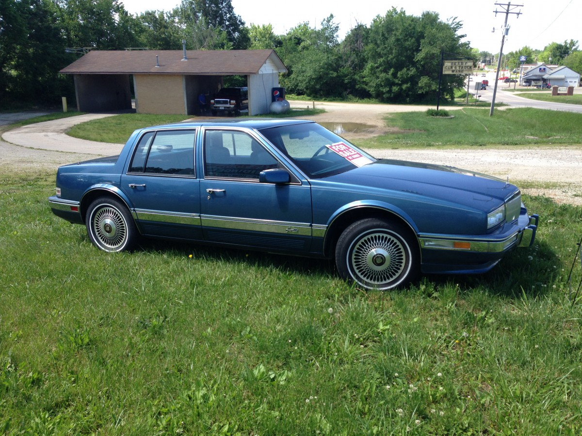 Curbside Classic 1986 91 Cadillac Seville The Sales In