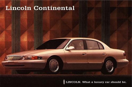 1995-97 lincoln continental