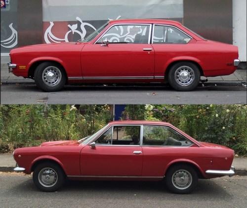Chevrolet 1971 Vega sedan red-vert