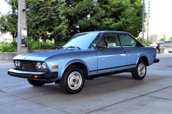 Fiat 124 coupe cc US