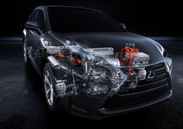 Lexus NX 300h engine