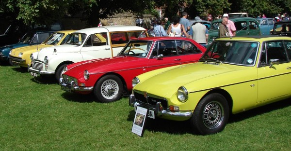 MGB and Morris Traveller