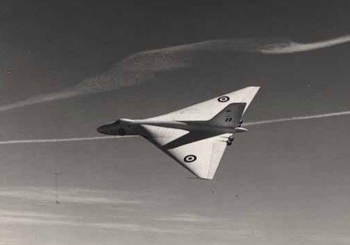 The-first-prototype-Avro-Vulcan-VX770