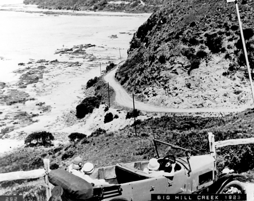 great ocean road historical photo
