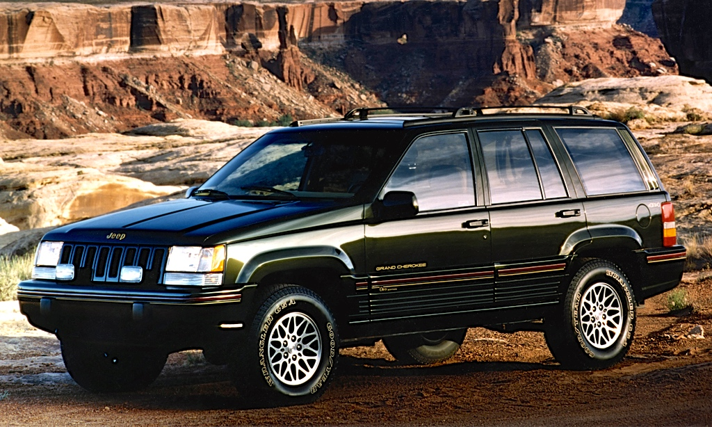 curbside classic 1995 jeep grand cherokee orvis edition explorer eddie bauers are just so. Black Bedroom Furniture Sets. Home Design Ideas