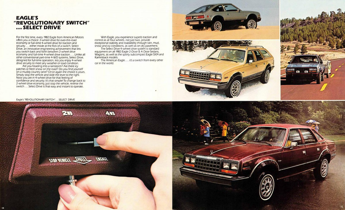 Curbside Classic Amc Eagle Sedan Back From The Future