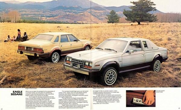 1982 AMC Full Lineup Prestige-22-23