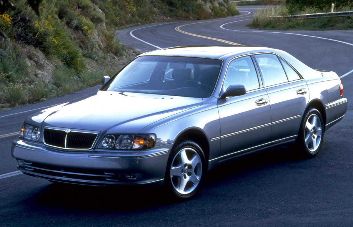 Curbside classic 1999 infiniti q45t the japanese lincoln unfortunately buyers still didnt warm up much to the new infiniti flagship while sales for the 1997 q45 were up over 75 percent to an staggering 10443 vanachro Choice Image