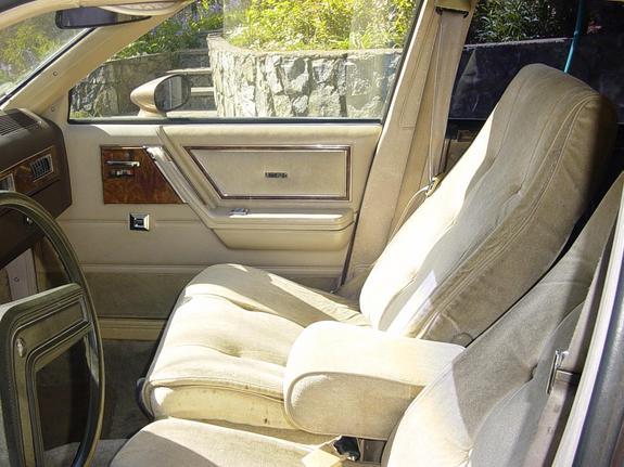 Buick skylark seats