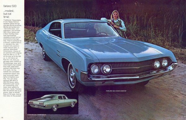 Ford 1970 Fairlane 500 brochure
