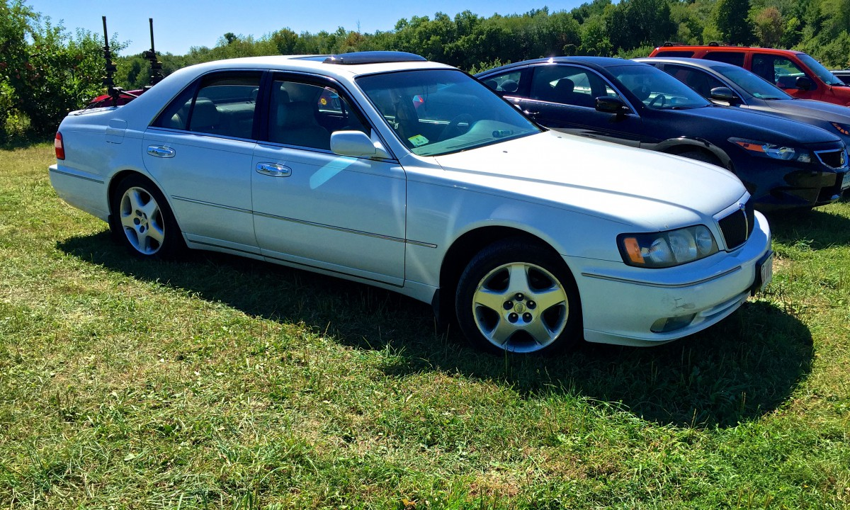 Curbside classic 1999 infiniti q45t the japanese lincoln introduced the same year as toyotas lexus division nissans infiniti brand never achieved the runaway success of lexus and this has largely been the vanachro Images