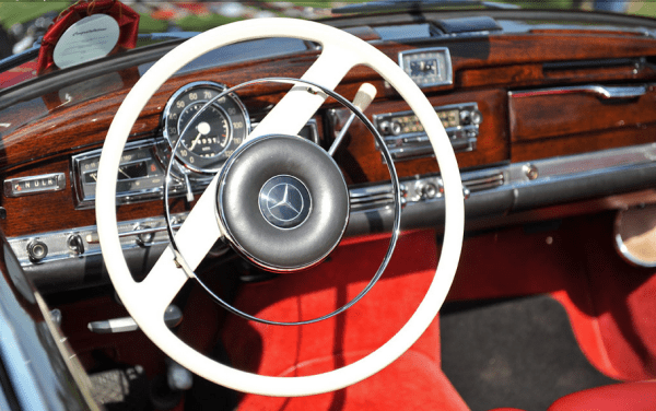 Mercedes 300 w189 int dash