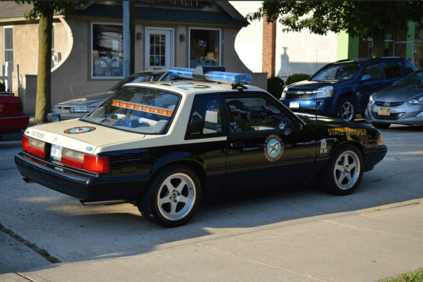 Mustang Florida state trooper