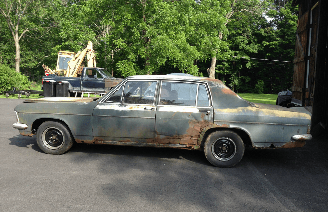 Ebay Find: 1973 Opel Admiral – This Could Have Been The Seville; Now ...