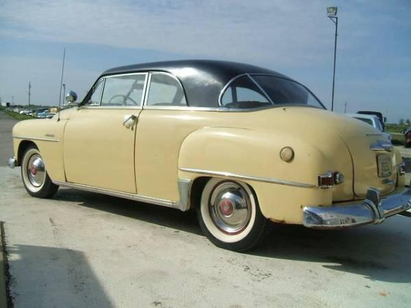 Plymouth 1951 Cranbrook belvedere